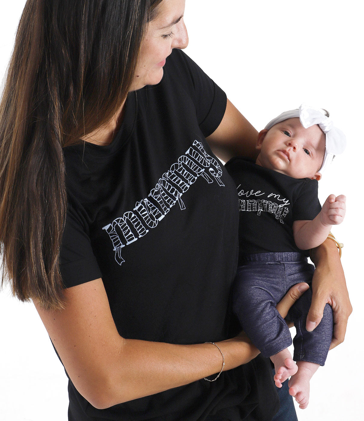 Make It A PairCheck out the BABE Glow in the Dark Onesie for an adorable mommy-and-me look.