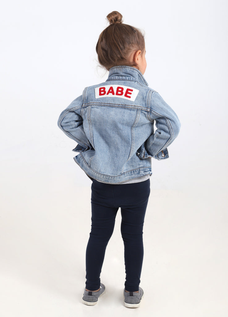693022afe Babe Toddler Denim Jacket™
