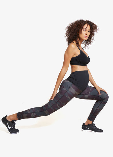 Camo Active Legging with Crossover Panel®