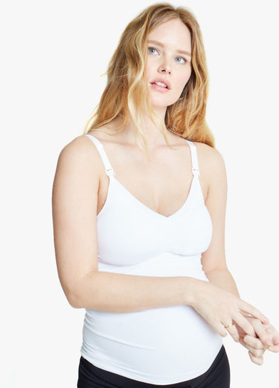 Seamless Drop Cup Nursing Cami