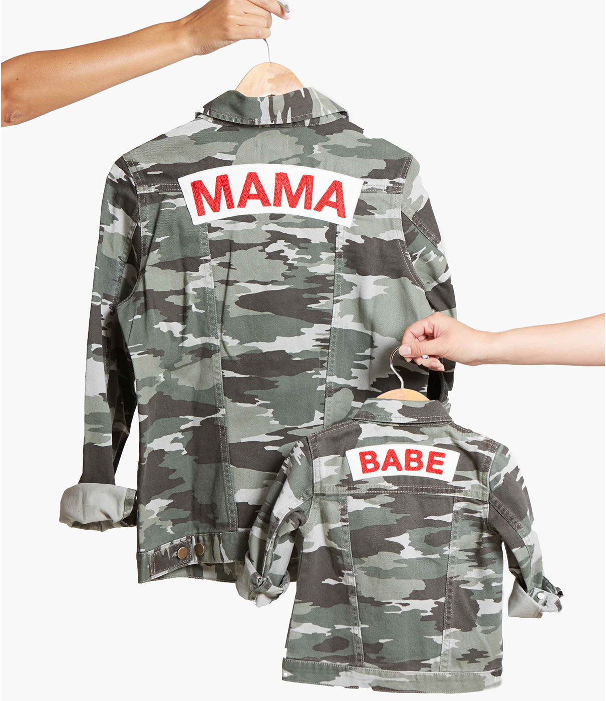 MAKE IT A PAIRCheck out our BABE jacket for an adorable mommy-and-me look.