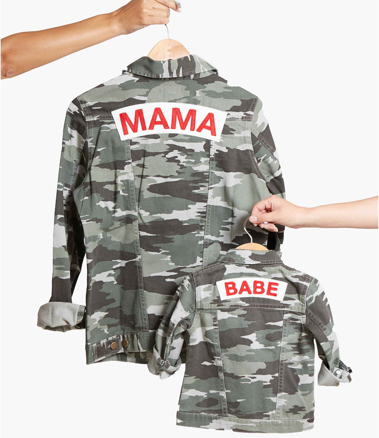 MAKE IT A PAIRCheck out our MAMA jacket for an adorable mommy-and-me look.