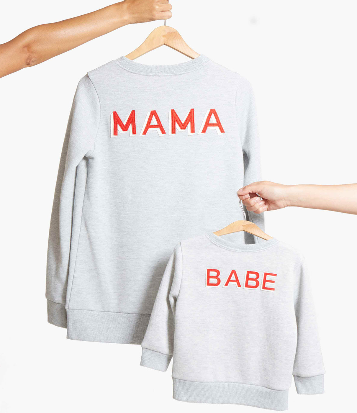 MAKE IT A PAIRCheck out the BABE sweatshirt for an adorable mommy-and-me look.