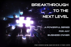 Breakthrough to the  Next Level: CD Series