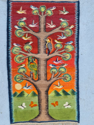 Yaag Chei - Tree of life and sacred Macaw