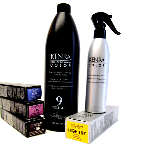 Hair Color - Kenra Permanent Line of hair color - Killerstrands Hair Clinic - 1