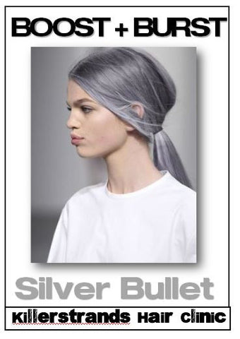 """ Silver + Violet Metallic - Brand NEW! Demi + Permanent Hair Color "" Kenra Metallics - - - - - Killerstrands Hair Clinic - 7"