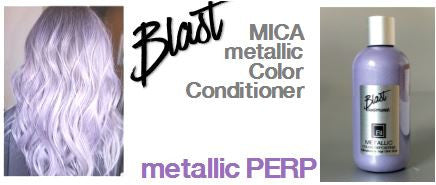 """ BLAST '' - Metallic Hair Conditioner (MICA+Pigment) Luminescent Color"