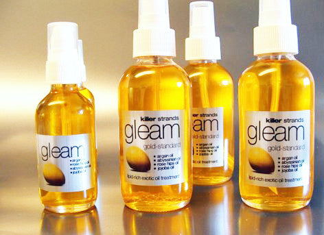 GLEAM - De-Frizz Internally - Killerstrands own Oil - Killerstrands Hair Clinic - 1