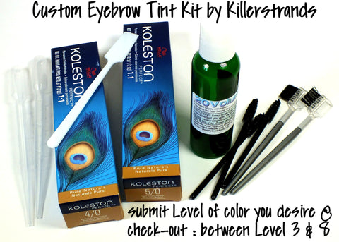 'Eyebrow Color Kit' by Killerstrands - Killerstrands Hair Clinic - 2