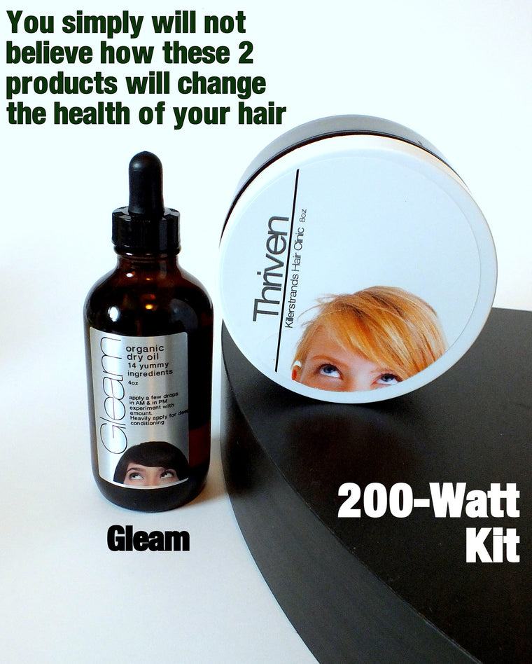 200-WATT Kit for hair conditioning