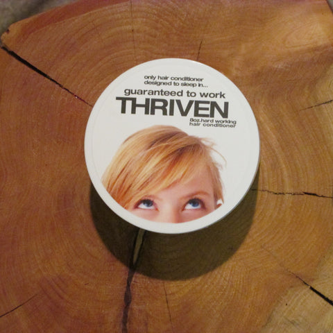 Thriven - Deep overnight conditioner repairs hair from inside out = works miracles