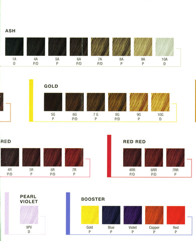 Hair Color - Kenra Permanent Line of hair color - Killerstrands Hair Clinic - 3