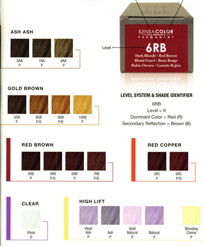 Hair Color - Kenra Permanent Line of hair color - Killerstrands Hair Clinic - 4
