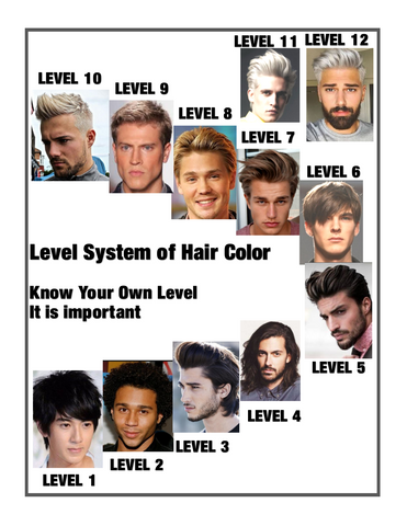 """ Mens Hair Color "" -- Kits & Supplies  'Illumina' Hair Color by Wella"