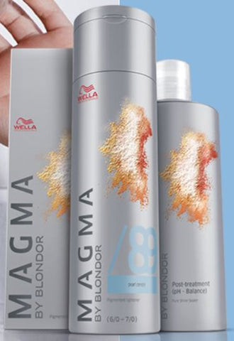 *MAGMA* - Pigmented Lighteners / Lighten + Tone by Blonder of Wella - Killerstrands Hair Clinic - 4