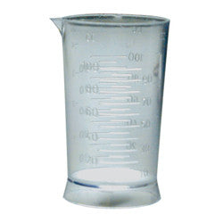 Transparent Measuring Cup - Killerstrands Hair Clinic