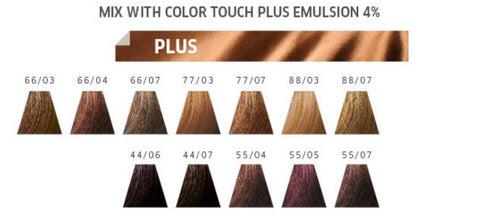 ' Color Touch + PLUS ' Demi-Permanent Hair Color by Wella