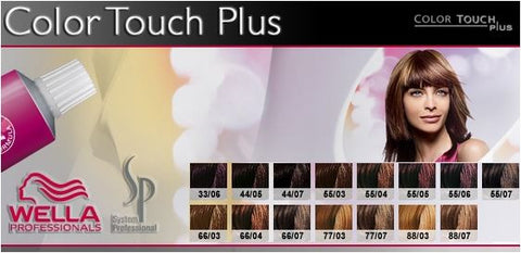 ' Color Touch + Color Touch PLUS ' Demi-Permanent Hair Color by Wella