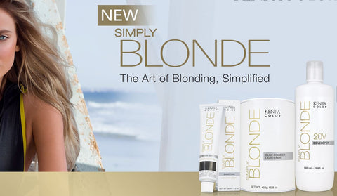 ' Kenra Permanent + Demi-Permanent + Hair Color + BLONDES + Bleach + Toners ' --