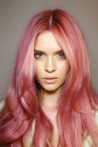 # Rose-Gold Hair Color Options - Killerstrands Hair Clinic - 32
