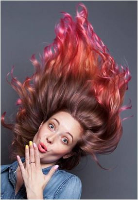 ' Crazy Colors /DIRECT DYE - POP - Power OF Paint Hair Color' by Paul Mitchell