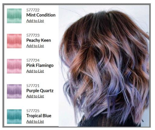 Crazy Colors /DIRECT DYE - POP - Power OF Paint Hair Color by Paul Mitchell