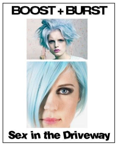 2oz.BOOST + BURST - Fun size  - Professional Tinted Shampoo + Conditioners - Killerstrands Hair Clinic - 28
