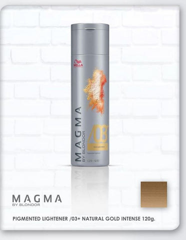 *MAGMA* - Pigmented Lighteners / Lighten + Tone by Blonder of Wella - Killerstrands Hair Clinic - 67