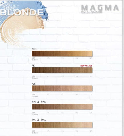 *MAGMA* - Pigmented Lighteners / Lighten + Tone by Blonder of Wella - Killerstrands Hair Clinic - 20
