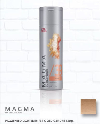 *MAGMA* - Pigmented Lighteners / Lighten + Tone by Blonder of Wella - Killerstrands Hair Clinic - 38