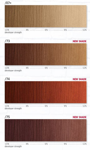 *MAGMA* - Pigmented Lighteners / Lighten + Tone by Blonder of Wella - Killerstrands Hair Clinic - 54