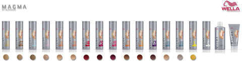 *MAGMA* - Pigmented Lighteners / Lighten + Tone by Blonder of Wella - Killerstrands Hair Clinic - 62