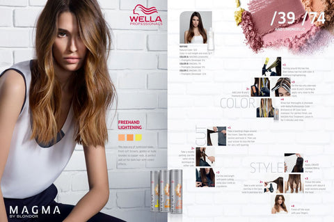 *MAGMA* - Pigmented Lighteners / Lighten + Tone by Blonder of Wella - Killerstrands Hair Clinic - 63