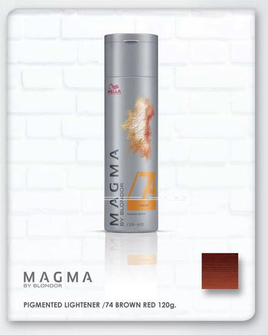 *MAGMA* - Pigmented Lighteners / Lighten + Tone by Blonder of Wella - Killerstrands Hair Clinic - 74