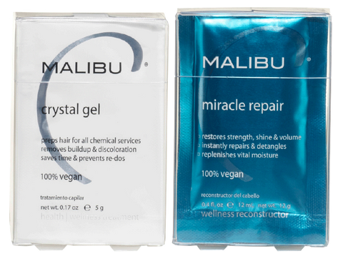 Malibu2000- Crystal Gel Normalizer - Killerstrands Hair Clinic