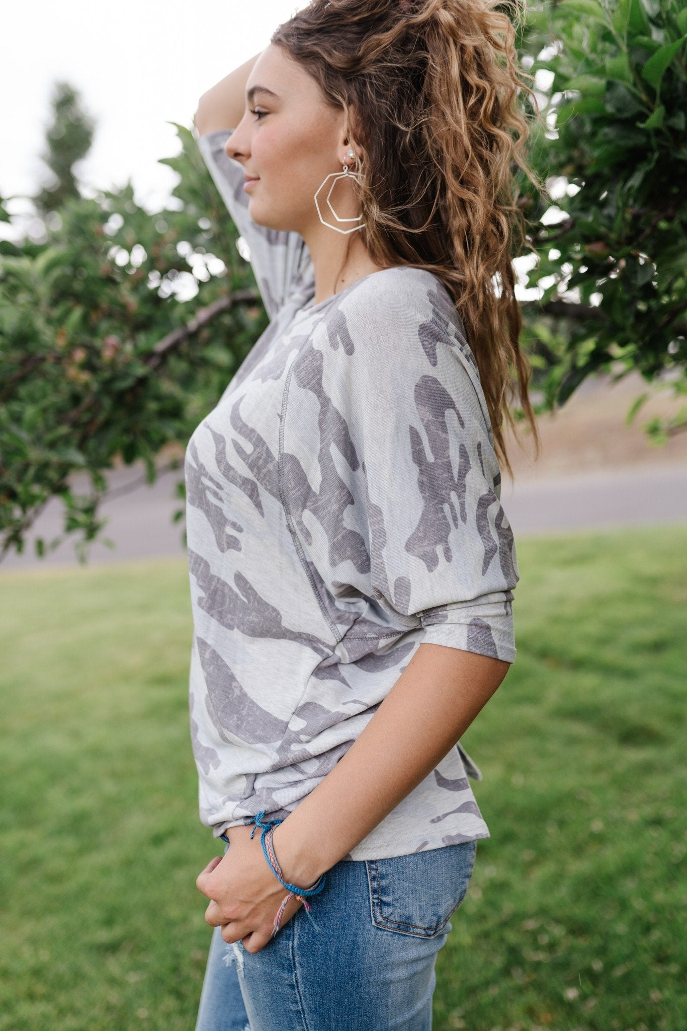 Hide And Seek Camo Top - Lola Cerina Boutique