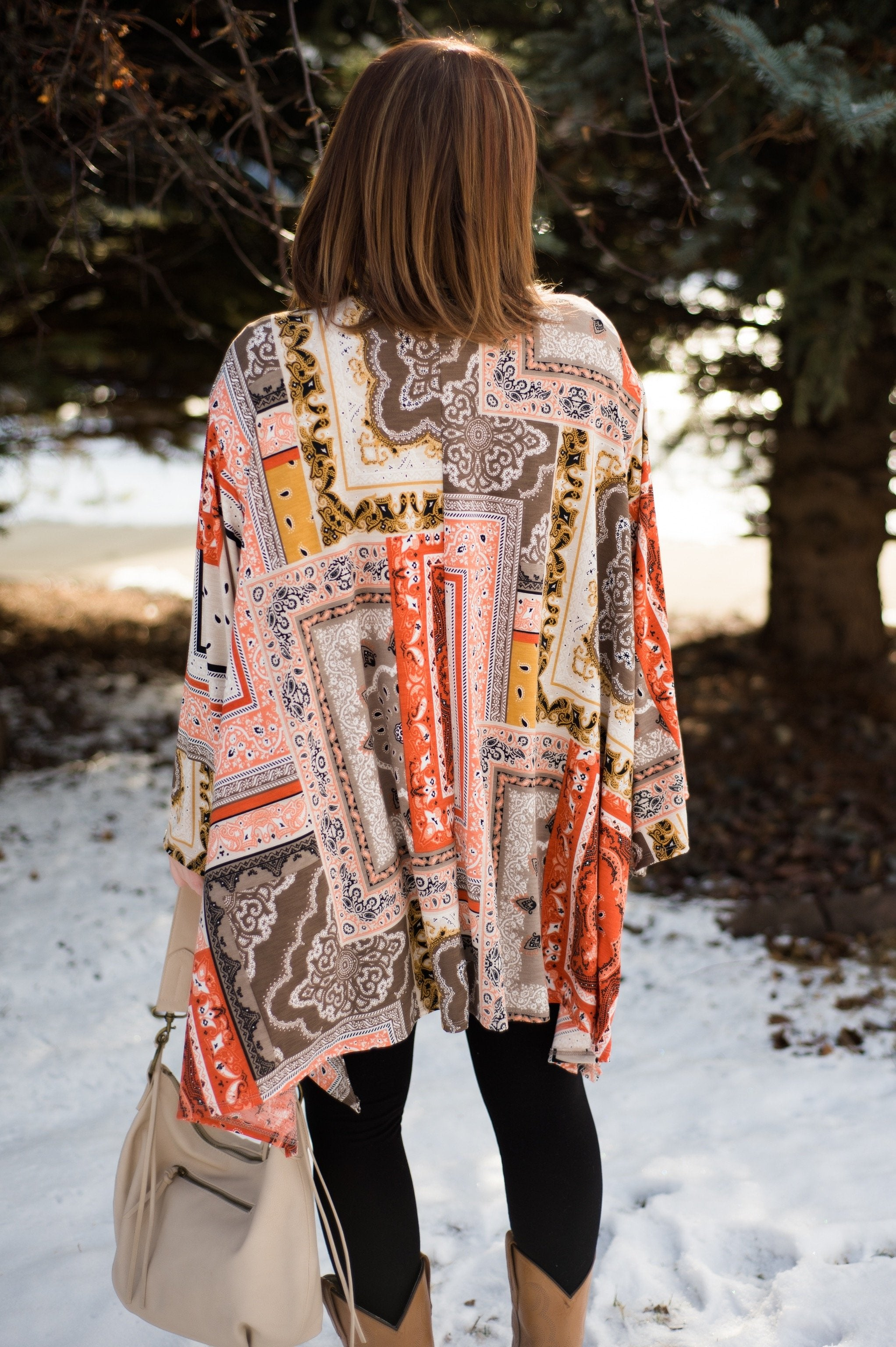 The Final Touch Kimono In Sunset,  - Lola Cerina Boutique