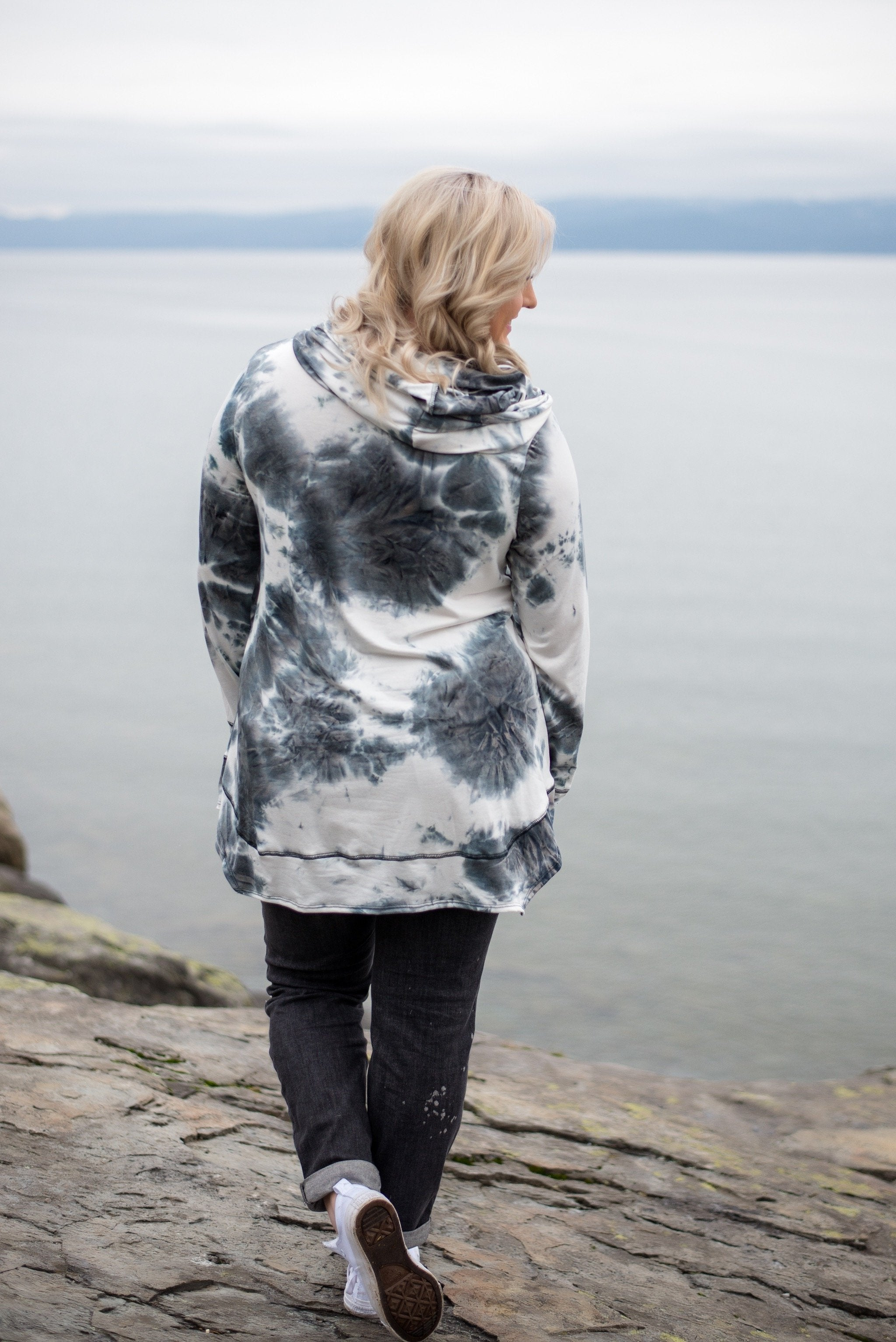 You'll Be A Vision Tie Dye Hoodie,  - Lola Cerina Boutique