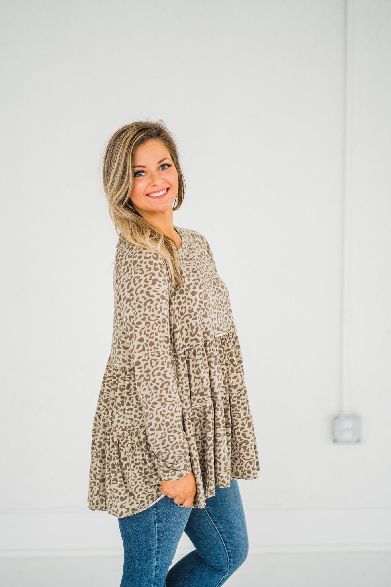 Tier For A Good Time Leopard Tunic,  - Lola Cerina Boutique