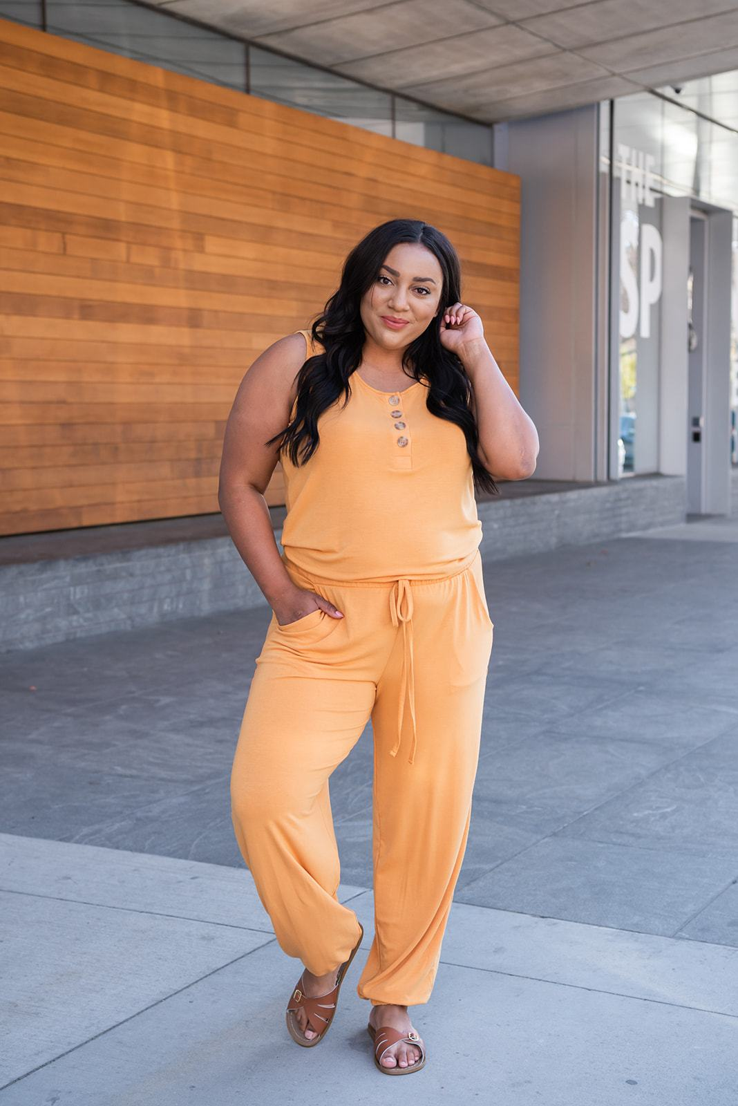 Summer Retreat Jogger Jumpsuit - Lola Cerina Boutique