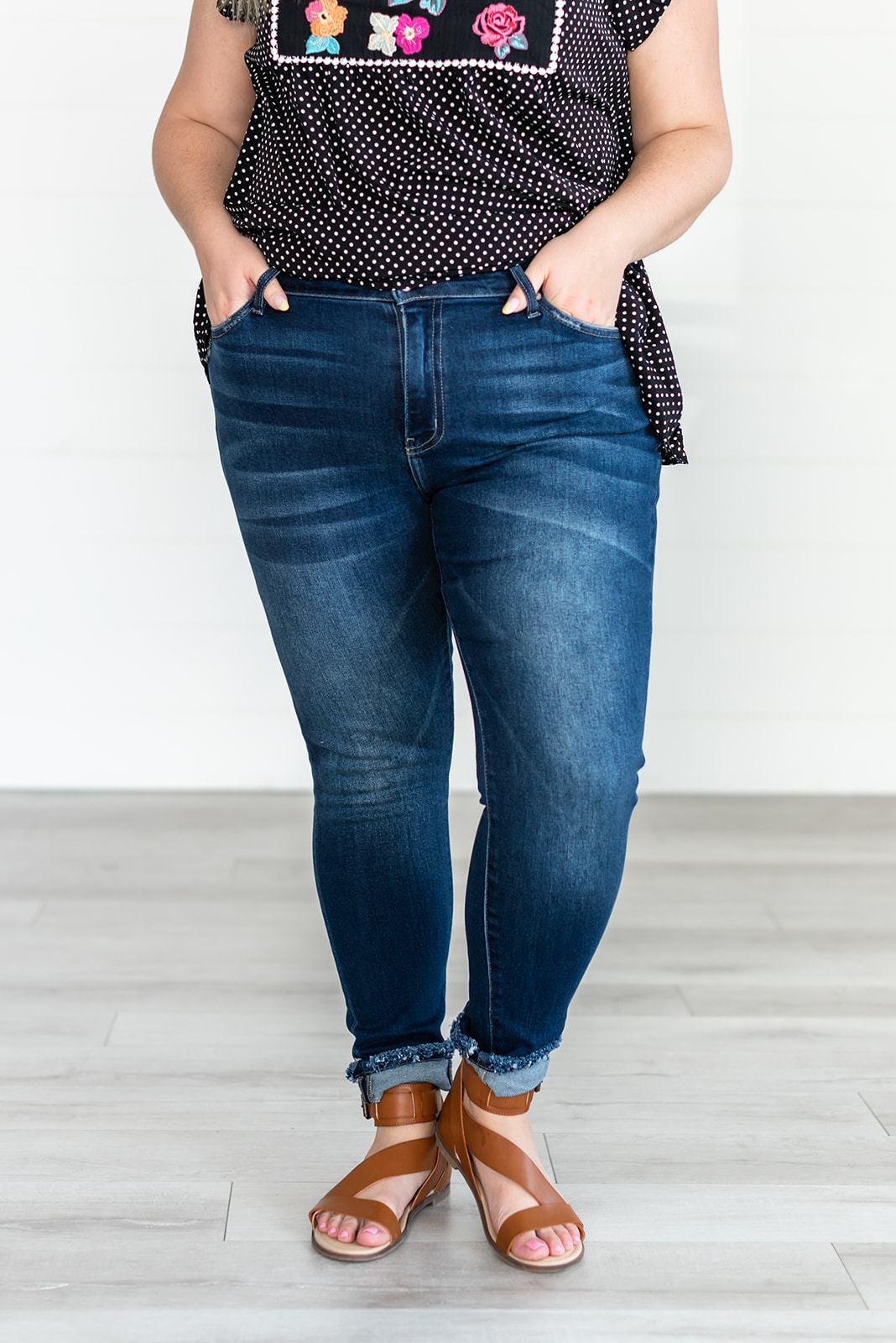 Impress You Mid Rise Skinny Jeans - Lola Cerina Boutique