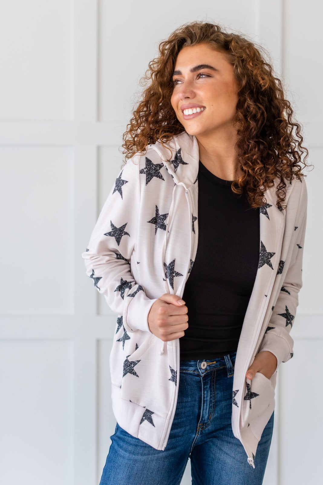 Shine On Me Hoodie - Lola Cerina Boutique