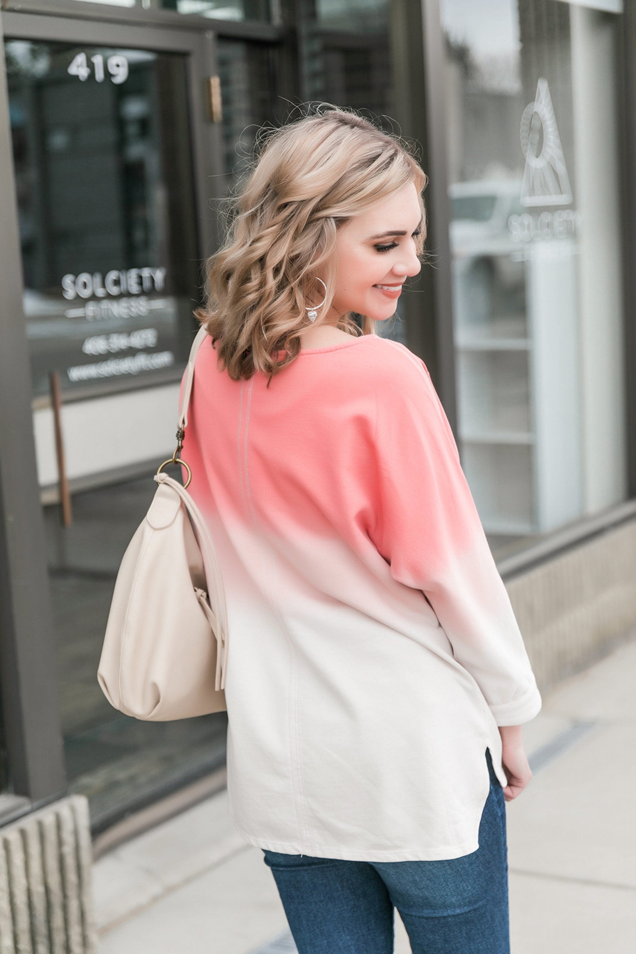 She's Got A Way Ombre' Top,  - Lola Cerina Boutique