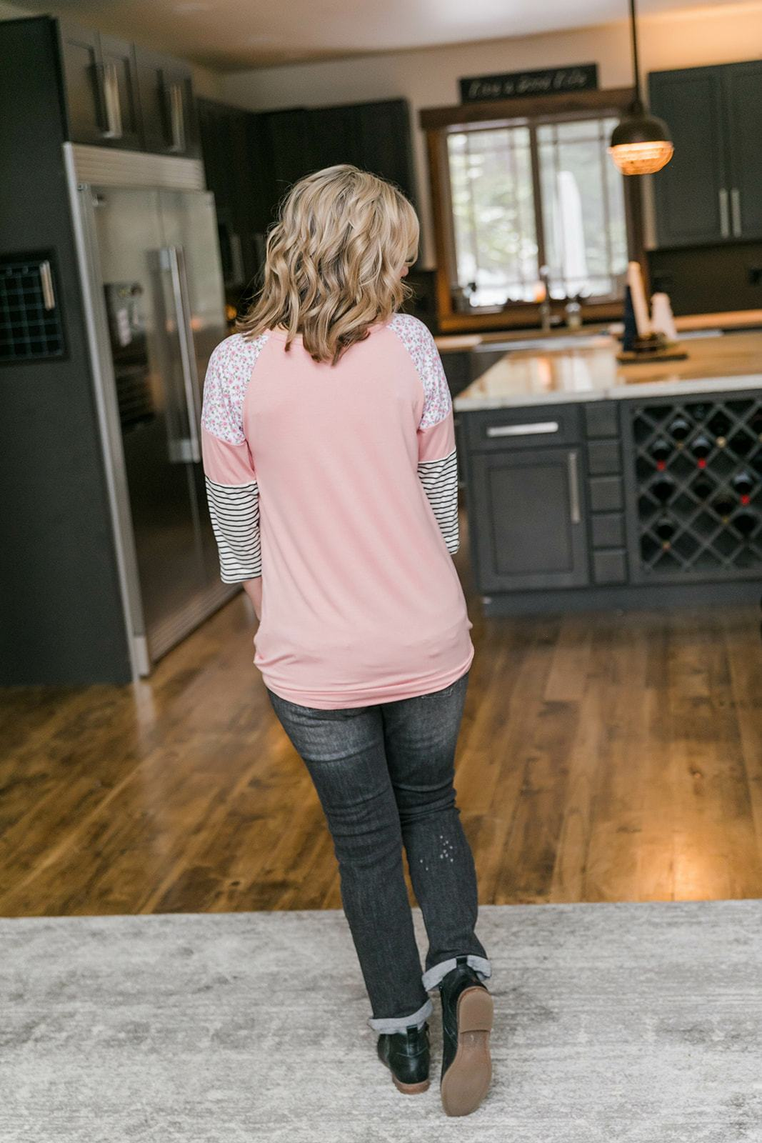 Springtime In The Rockies Raglan - Lola Cerina Boutique
