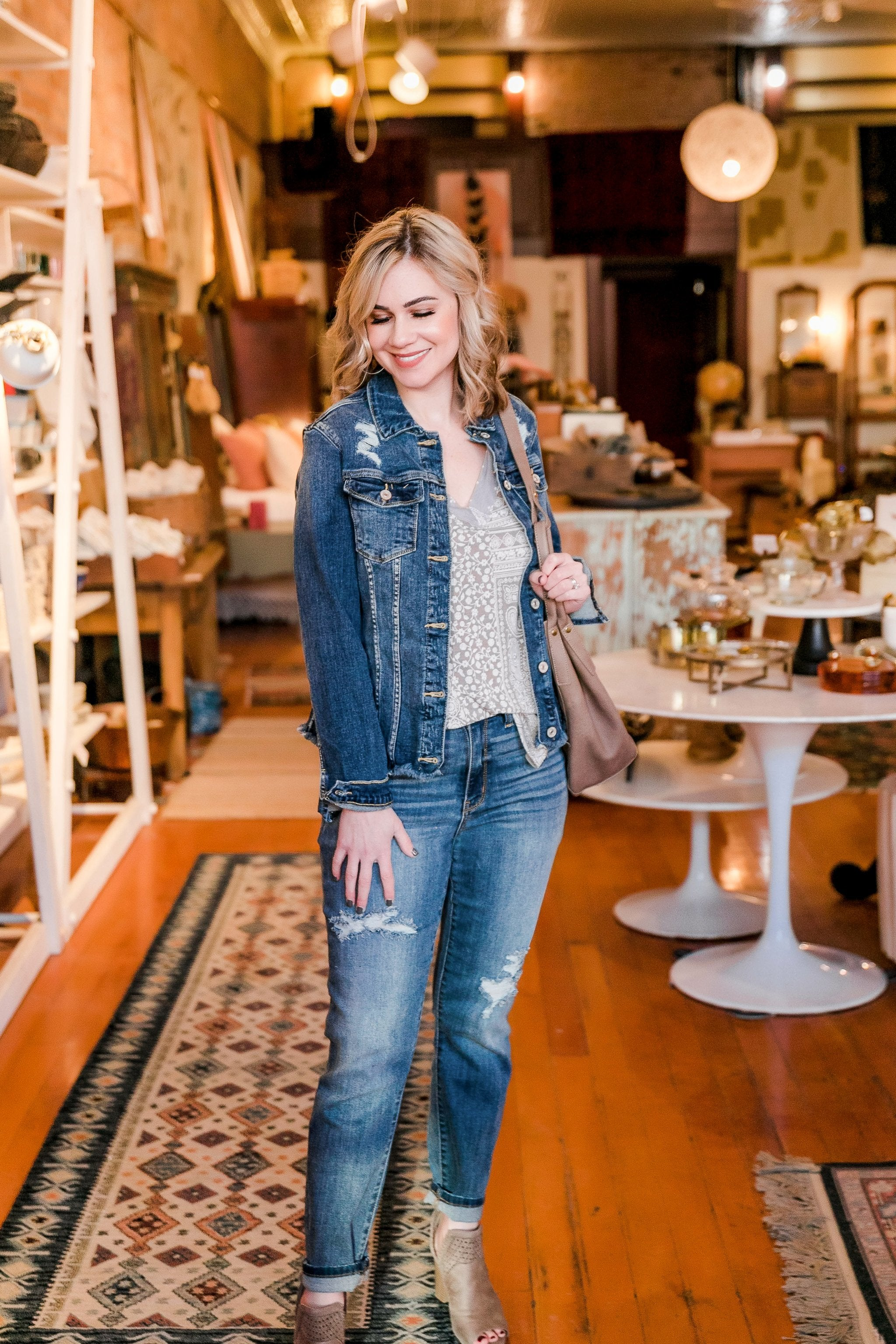 Best Friends For Life Denim Jacket - Lola Cerina Boutique