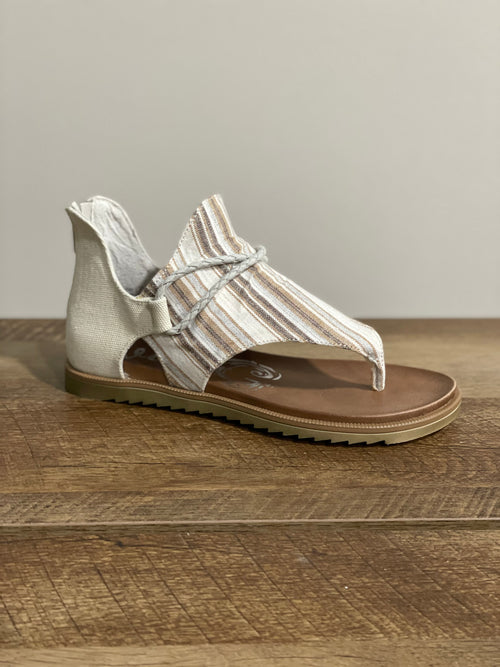 Very G Gypsy Jazz Dakota Sandal | Cream - Lola Cerina Boutique