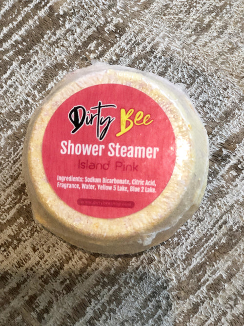 Dirty Bee Shower Steamers | Island Pink, Unclassified - Lola Cerina Boutique