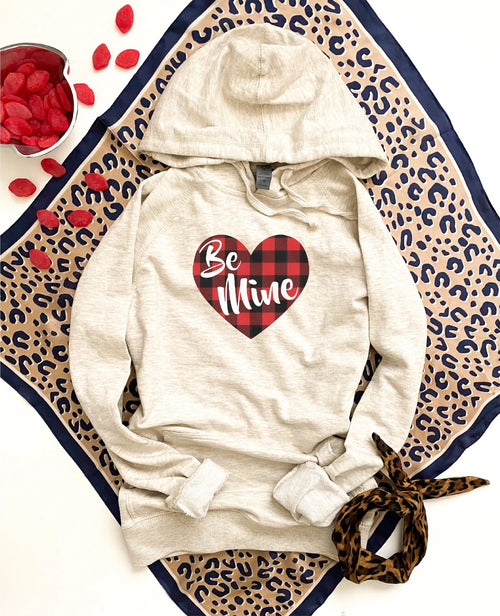 PREORDER | Graphic Luxe Hoodie -  BE MINE,  - Lola Cerina Boutique