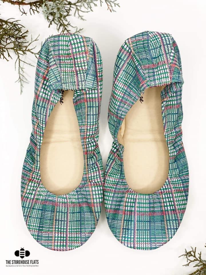 PREORDER Storehouse Flats | Merry Mistletoe - Approx Ship 11/30,  - Lola Cerina Boutique